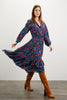 Juliette Dress | American Woman Navy