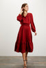 Juliette Dress | Crimson
