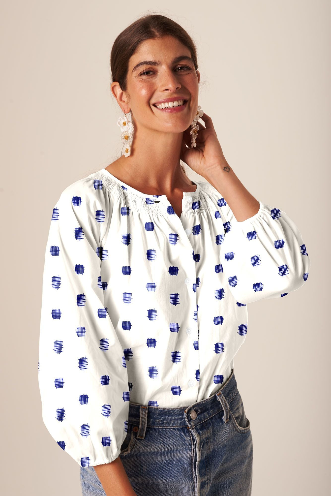 The Classic Blouse | Cross Stitch