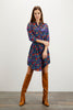 Jenna Dress  | American Woman Navy