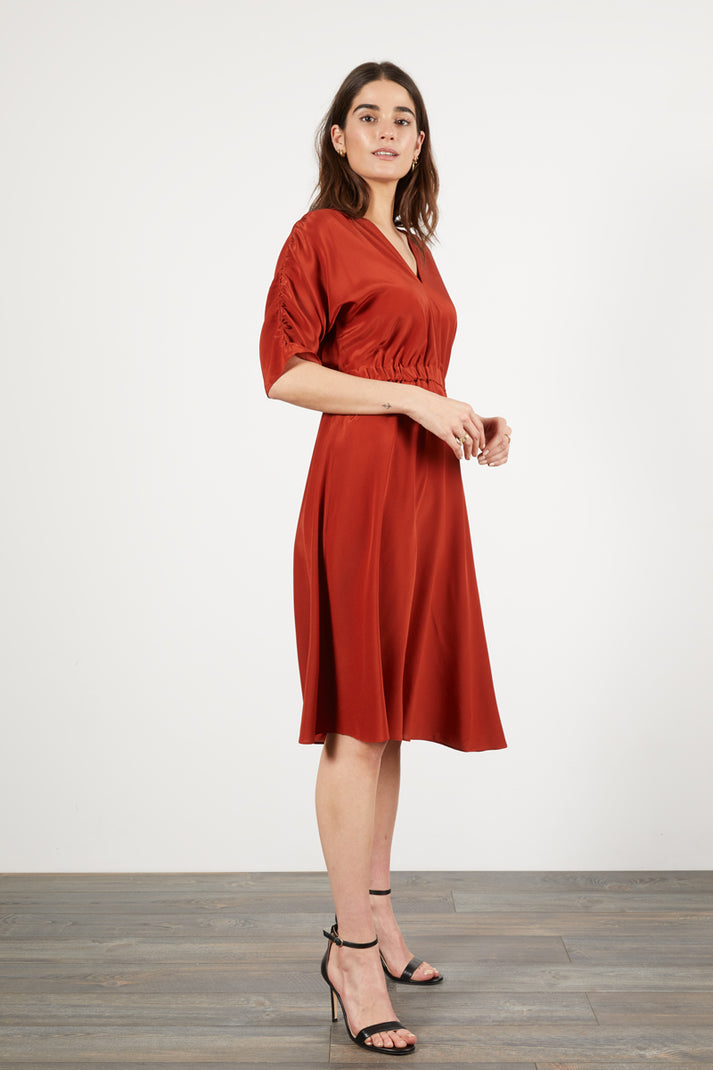 The Market Dress |  Currant