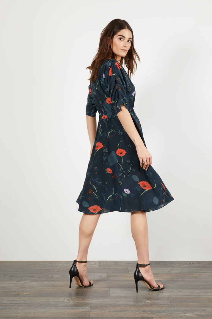 The Market Dress | Midnight Floral