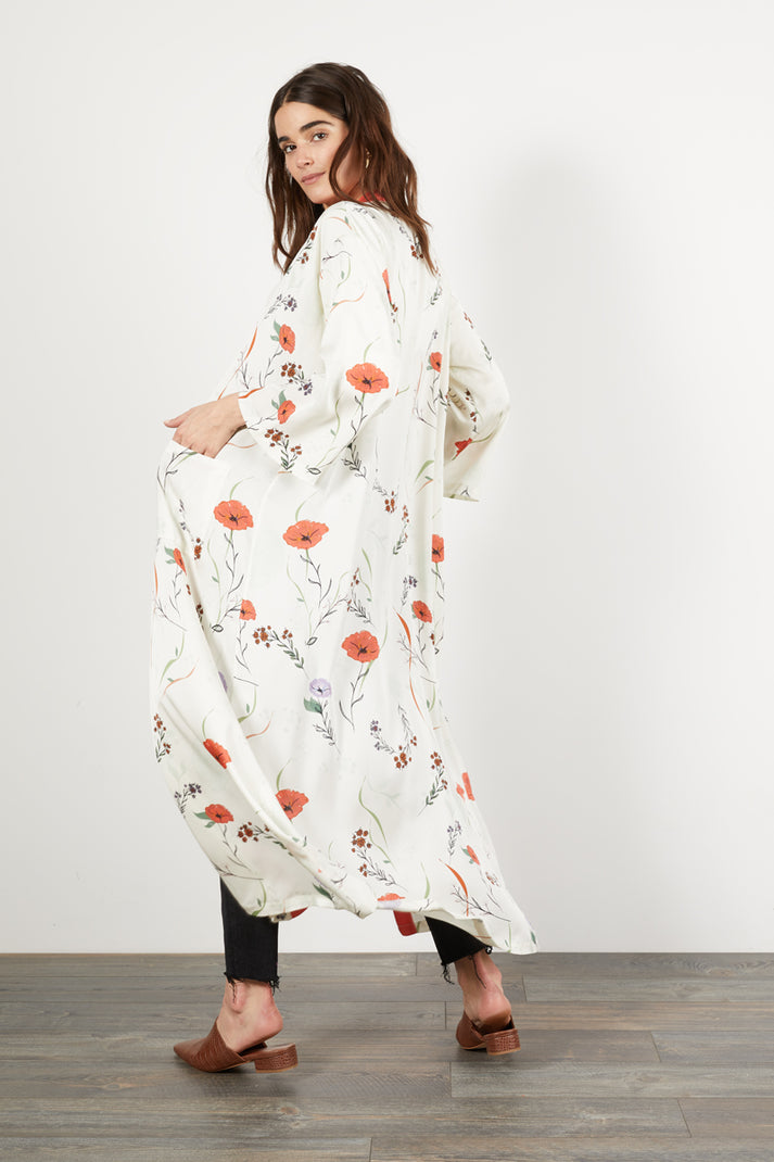 The Long Robe | Morning Floral