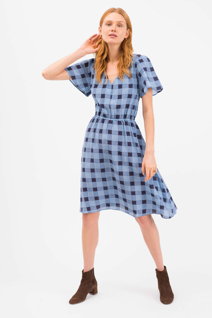The Chelsea Dress | Picnic Plaid