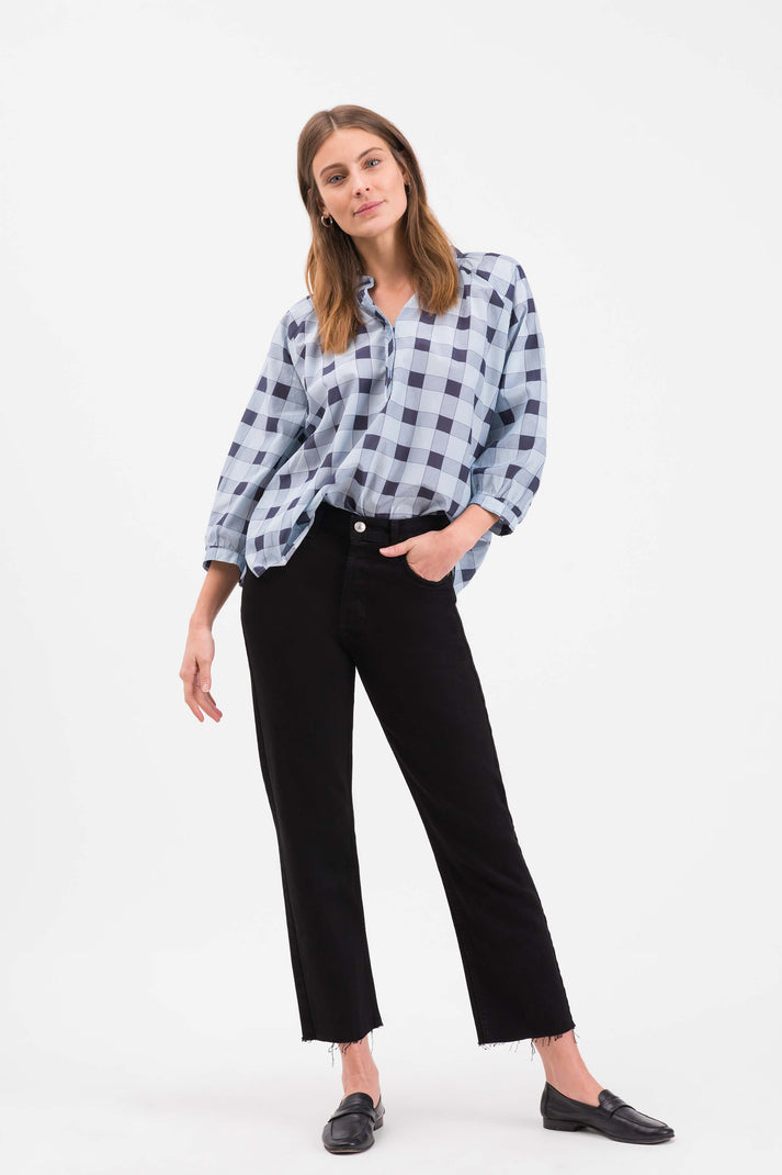 The Combo Classic Blouse | Picnic Plaid