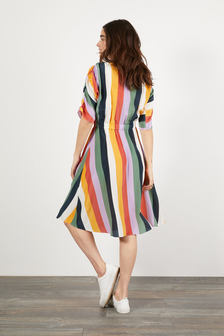 The Market Dress | Picnic Stripe