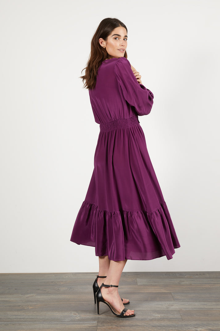 Juliette Dress | Plum