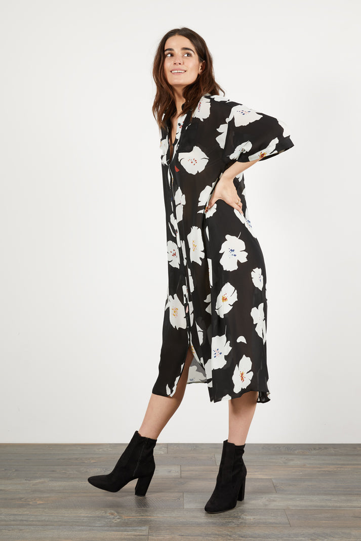 Safari Shirtdress | Shadow Flower