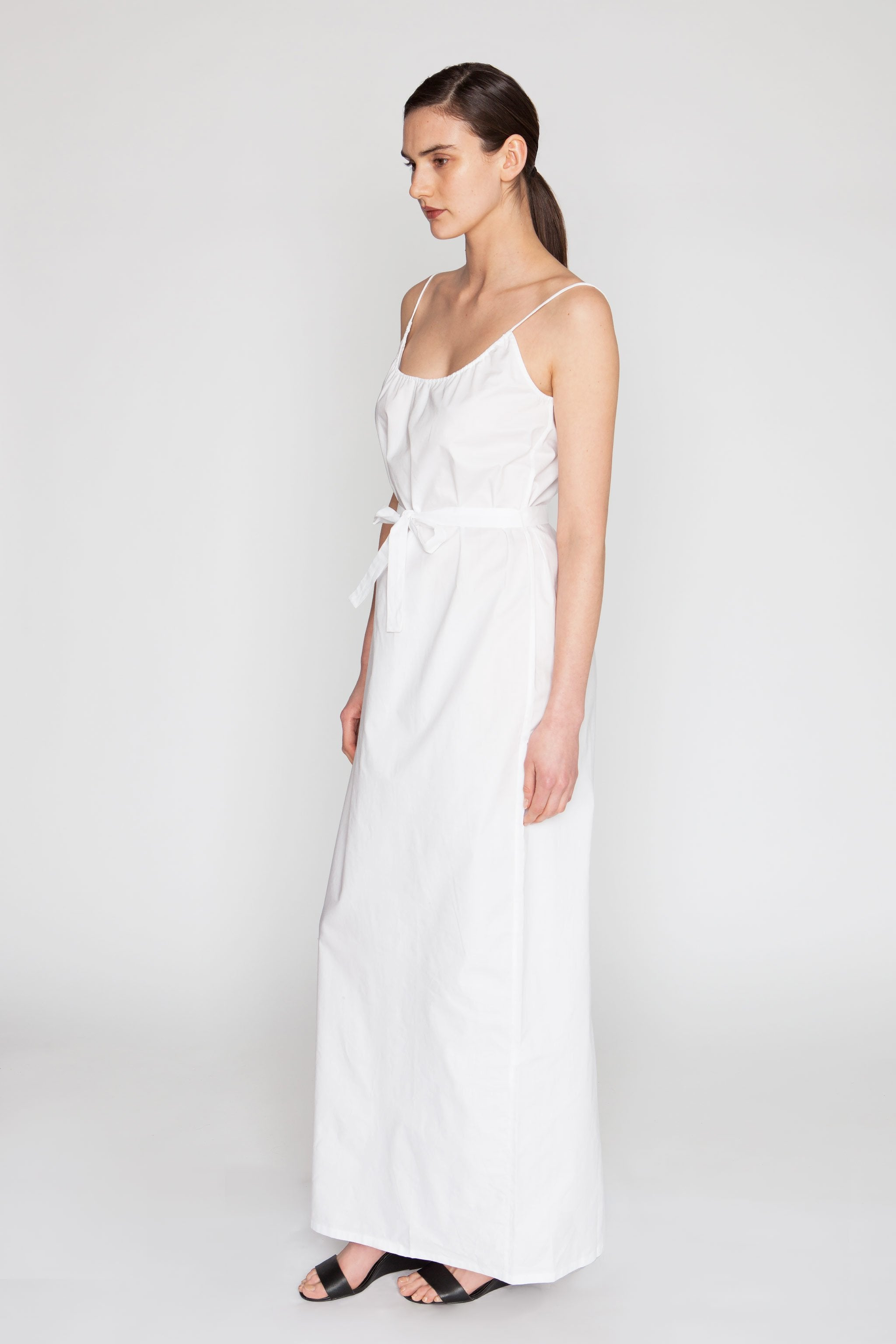 The Cami Maxi Dress | White - Tucker