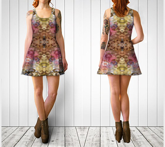 Flare Dress  |  Fish Flowers #1