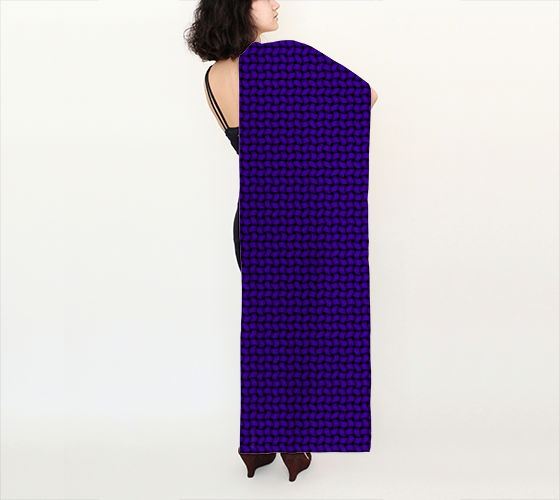 "AK02-010-AX:  Scarf 16""x72"" 