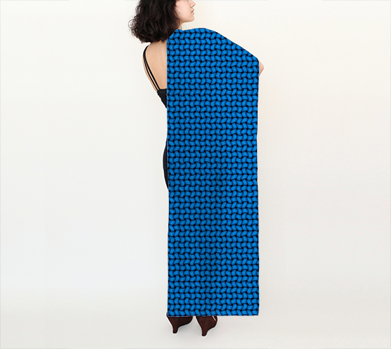 "AK02-009-AS:  Scarf 16""x72"" 