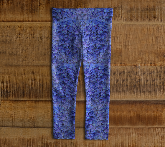 Baby Leggings | Blue Hydrangeas Nbr 1 [BE25-008-000]