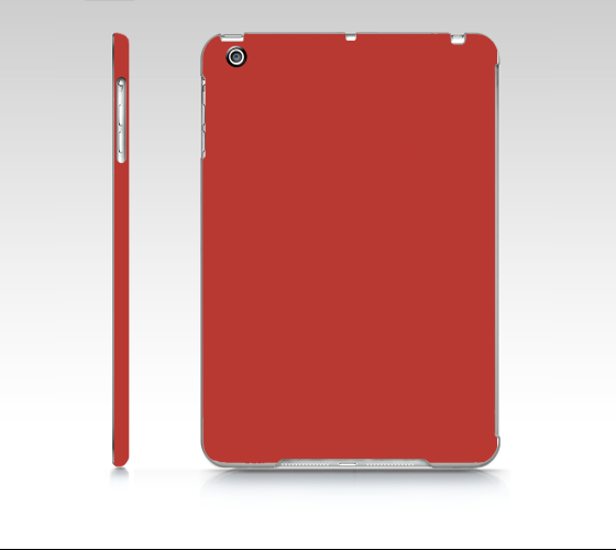 Device Case - iPad Mini  |  Simply Solids™ • Aurora Red