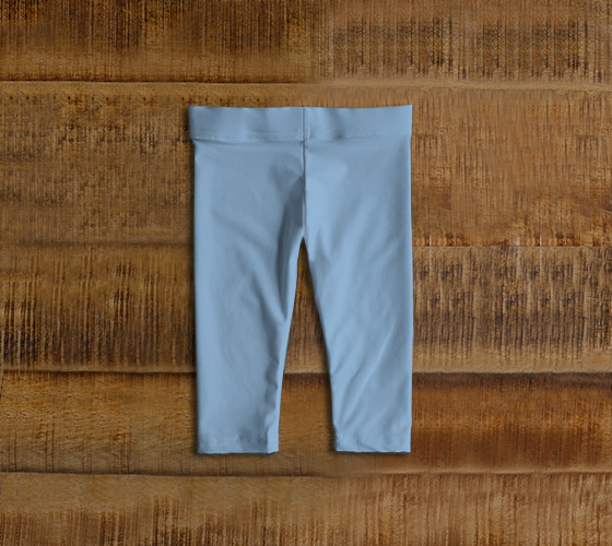 Baby Leggings  |  Simply Solids™ • Airy Blue