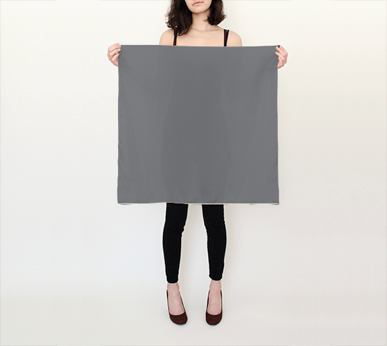 "Silk Scarf 26""x26""  