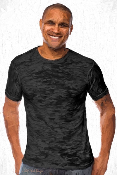 Catalog Image - Adult BurnOut T-Shirts - Semi-Sheer Poly/Cotton - SKU: AI07-002