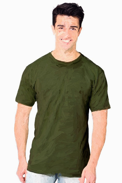 Adult T-Shirt - Hemp & Organic Cotton • 6 Colors <br>SKU:  AI07-002