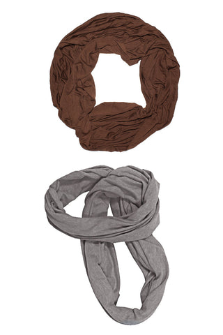 Tubular Scarf - Bamboo & Organic Cotton • 5 Colors <br>SKU:  AI06-001