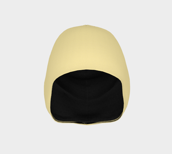 AK02-021-AC:  Beanie | Simply Solids™ - AggieLand Soft Yellow