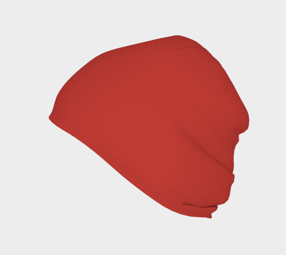 Beanie  |  Simply Solids™ • Aurora Red