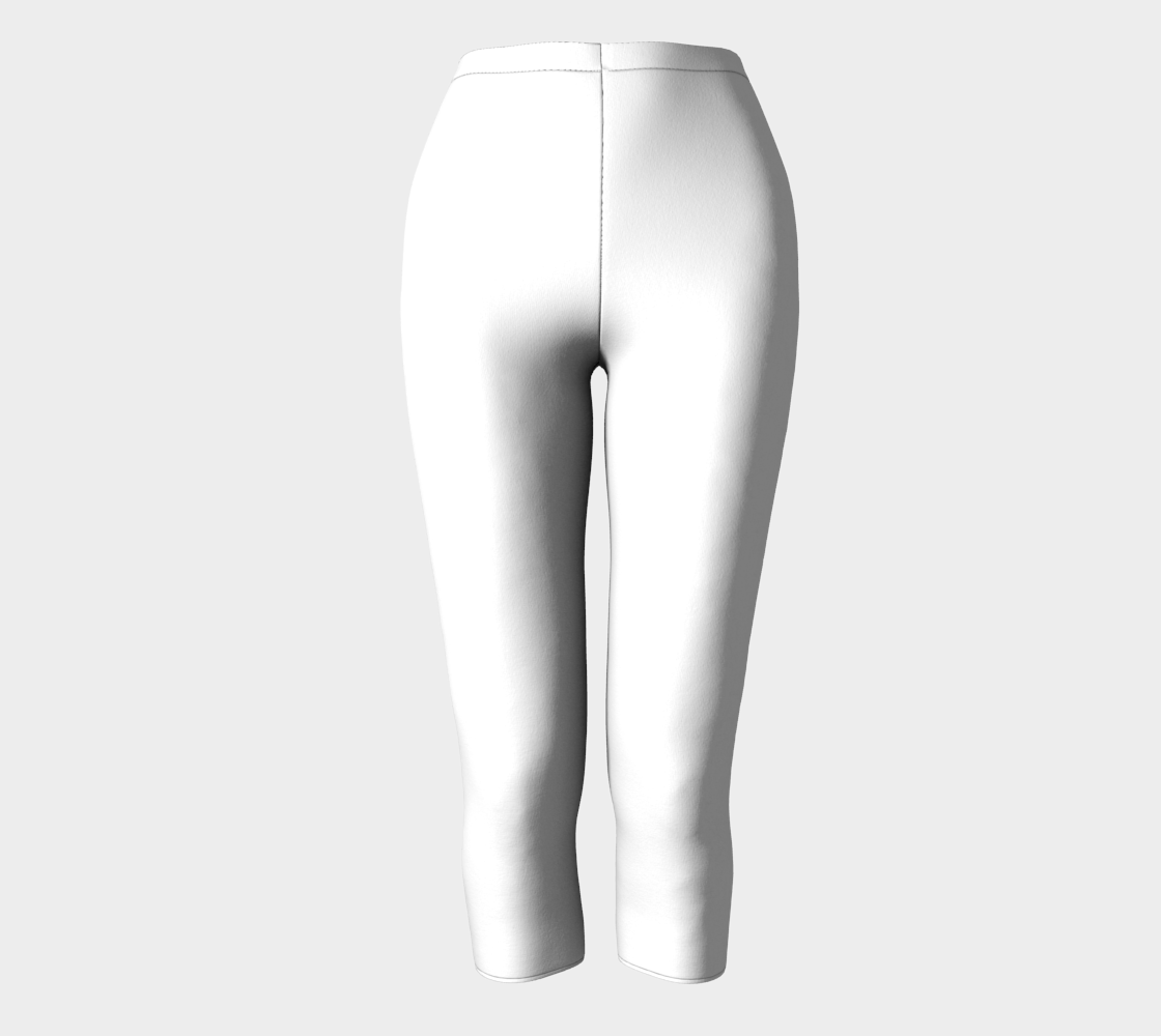 AK02-063-AL:  Capri Pants | Simply Solids™ - AggieLand Fabric White