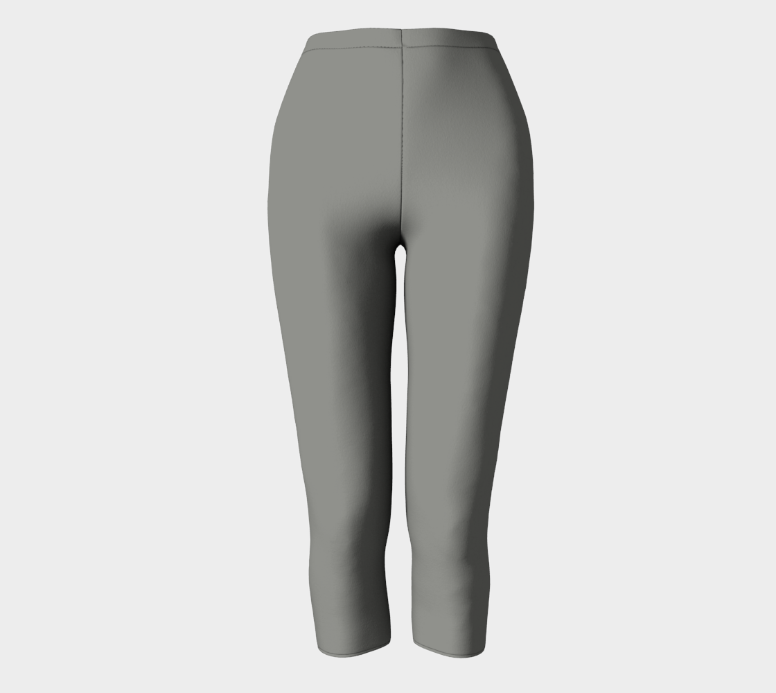 AK02-063-AK:  Capri Pants | Simply Solids™ - AggieLand Light Gray