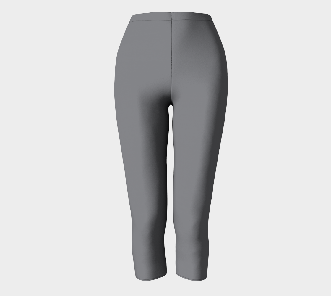 Capris Pants  |  Simply Solids™ • Sharkskin Gray