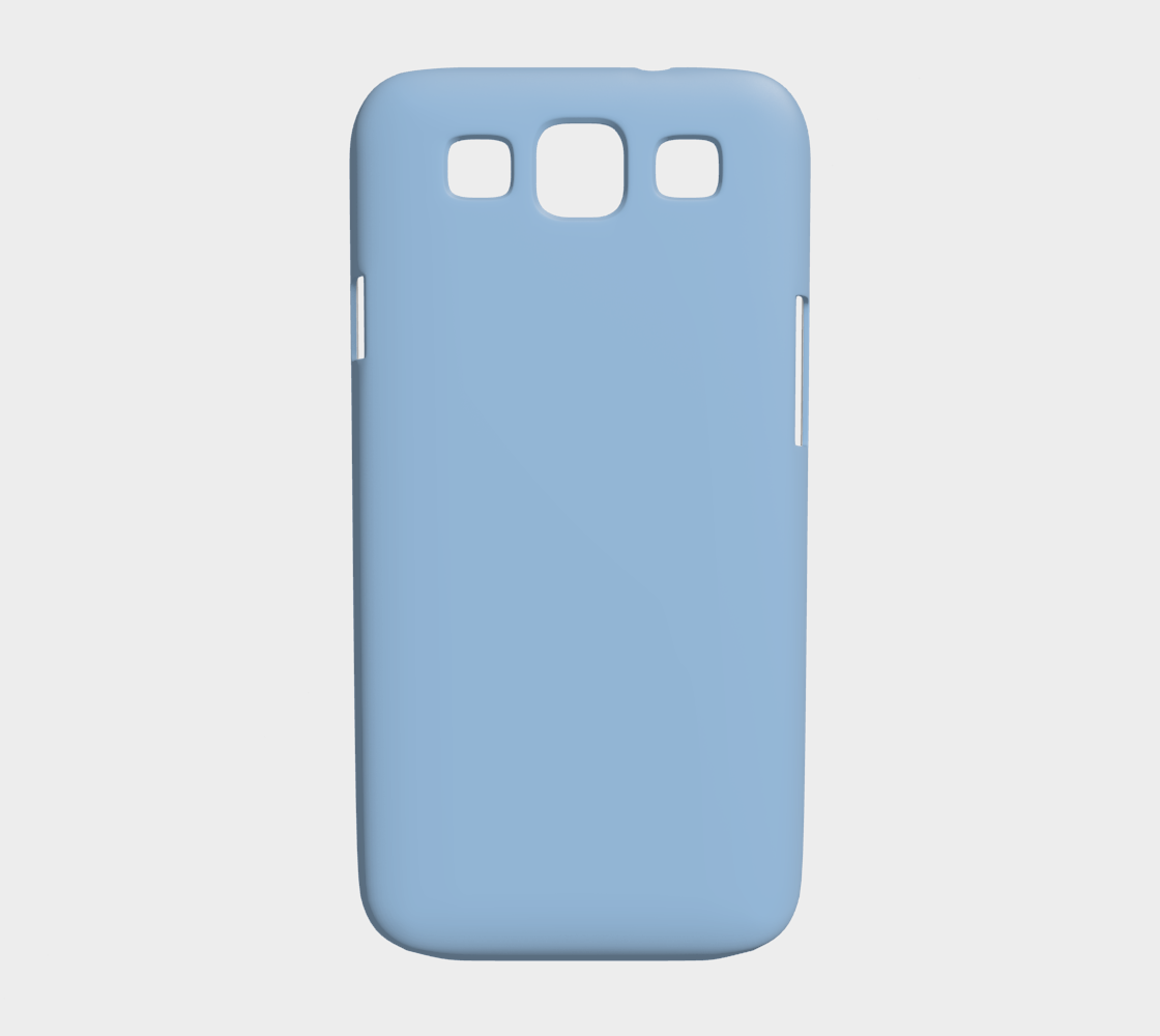 Device Case - Samsung Galaxy S3  |  Simply Solids™ • Airy Blue