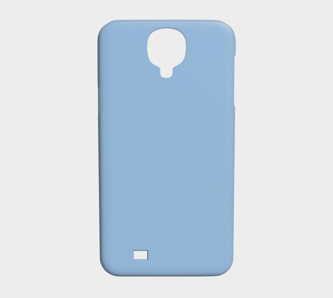 Device Case - Samsung Galaxy S4  |  Simply Solids™ • Airy Blue