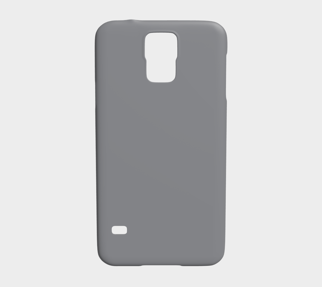 Device Case - Samsung Galaxy S5  |  Simply Solids™ • Sharkskin Gray
