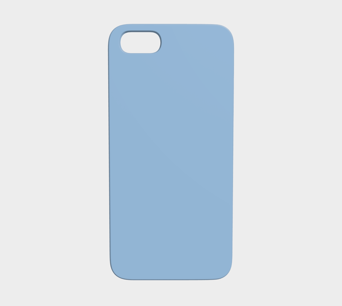 Device Case - iPhone 5/5S  |  Simply Solids™ • Airy Blue