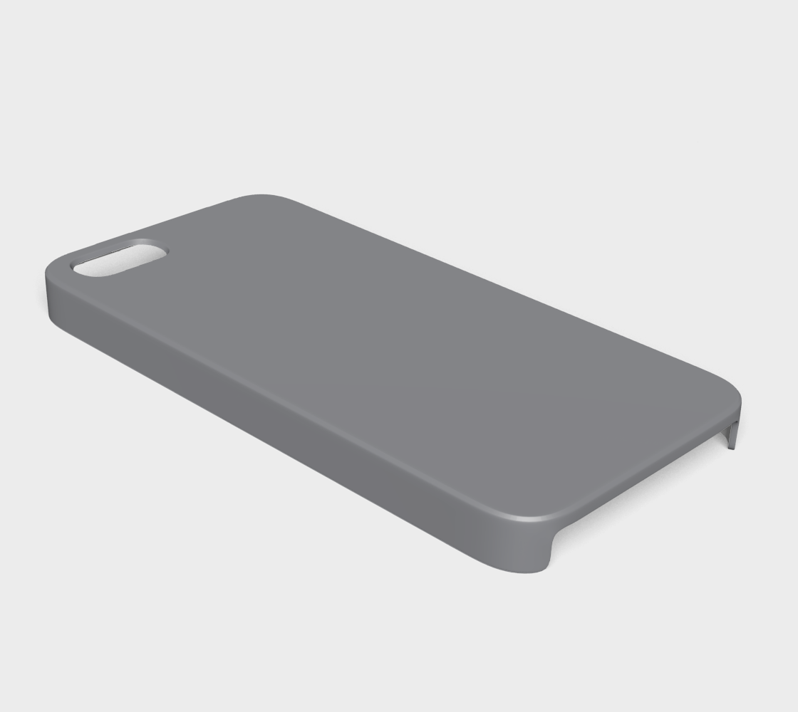 Dervice Case - iPhone 5/5S  |  Simply Solids™ • Sharkskin Gray