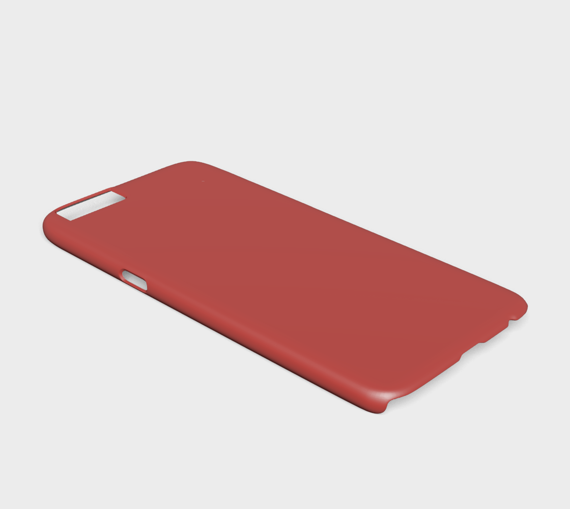 Device Case - iPhone 6/6S  |  Simply Solids™ • Aurora Red