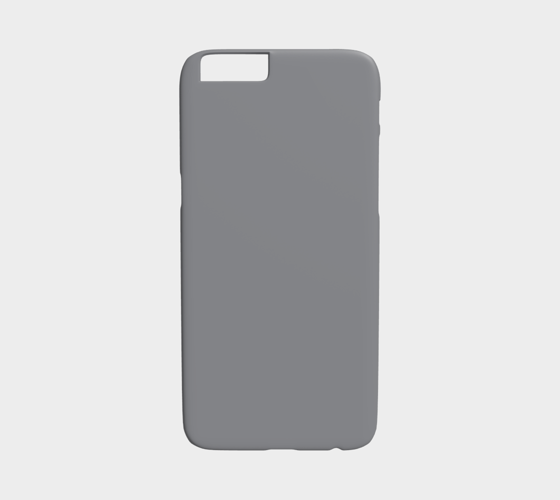 Device Case - iPhone 6/6S  |  Simply Solids™ • Sharkskin Gray