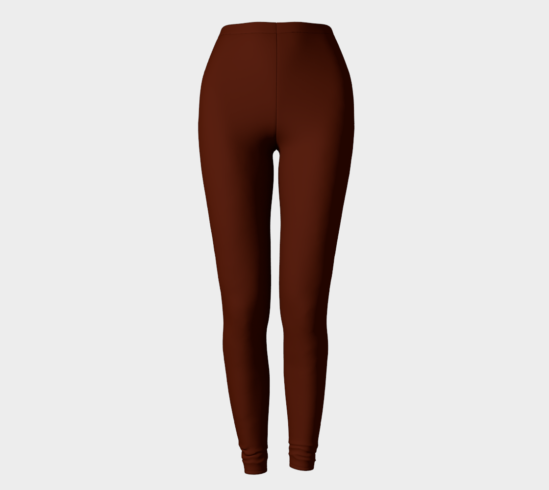 Leggings | Simply Solids™ Marooned
