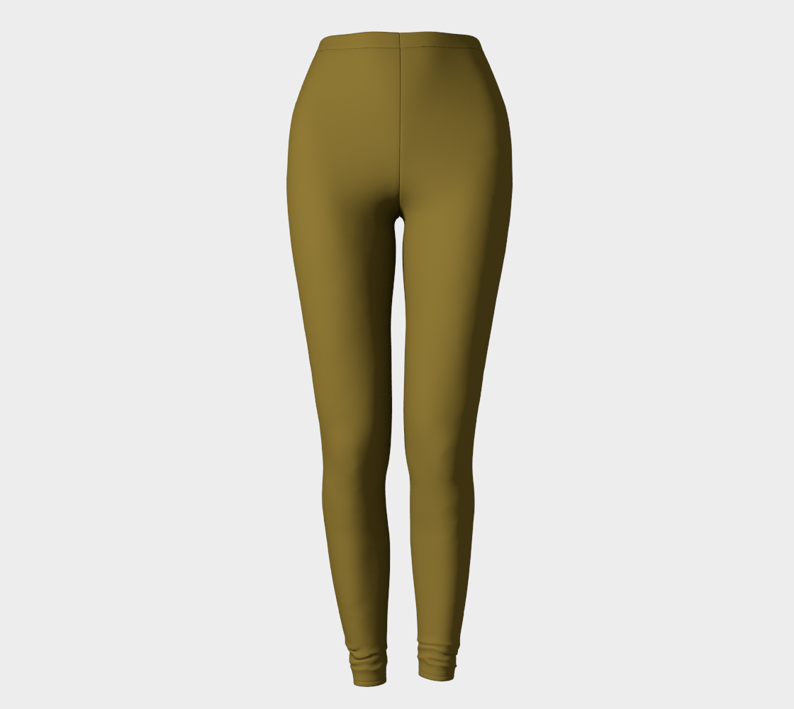 AK02-062-AM:  Fine Leggings | Simply Solids™ - AggieLand Dark Olive