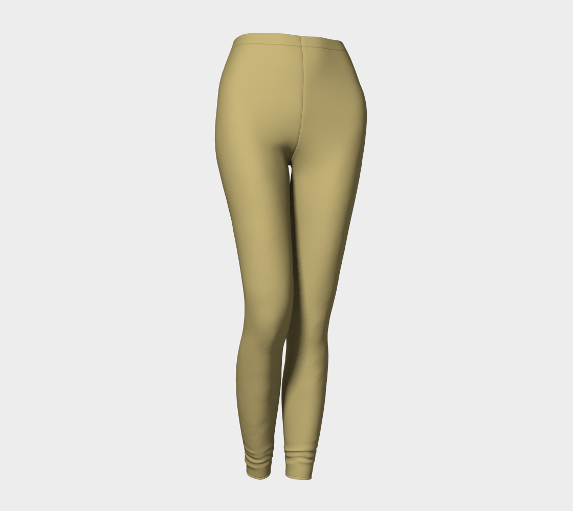 AK02-062-AJ:  Fine Leggings | Simply Solids™ - AggieLand Light Olive