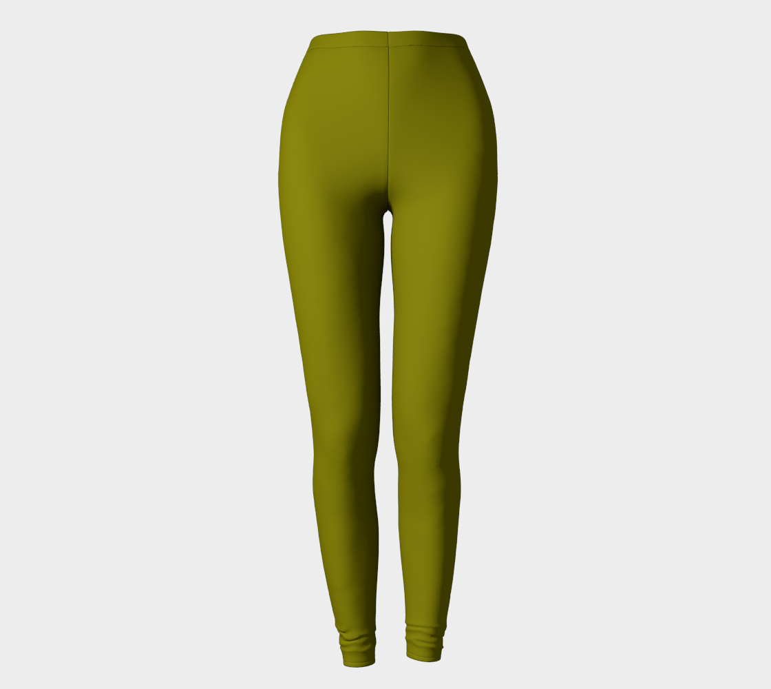 AK02-062-AG:  Fine Leggings | Simply Solids™ - AggieLand Pond Green