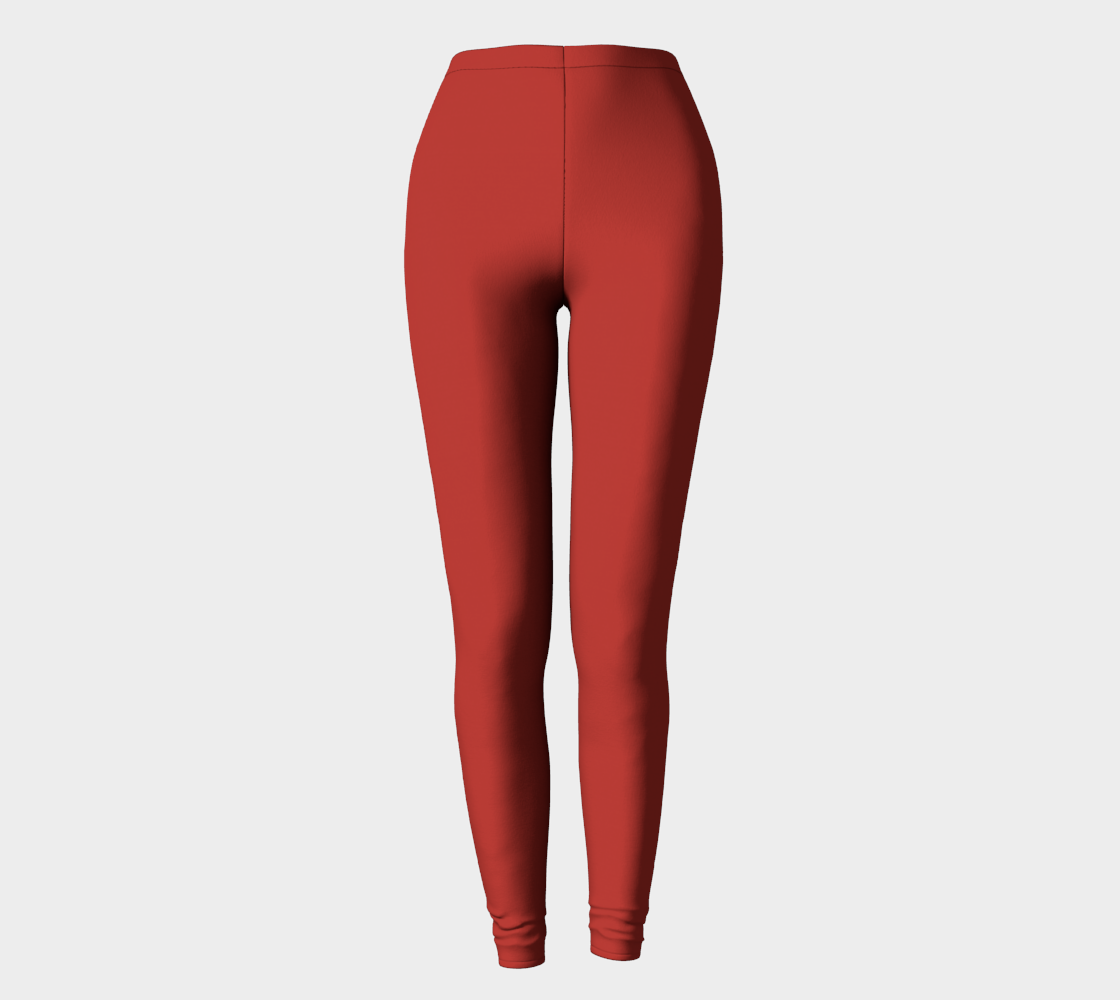 Leggings  |  Simply Solids™ • Aurora Red
