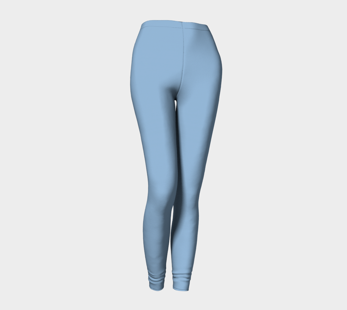 Leggings  |  Simply Solids™ • Airy Blue
