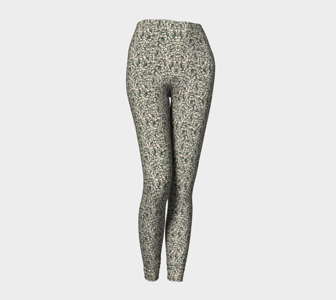 Leggings • Filigree A1-M – Pink Jelly CrvNC