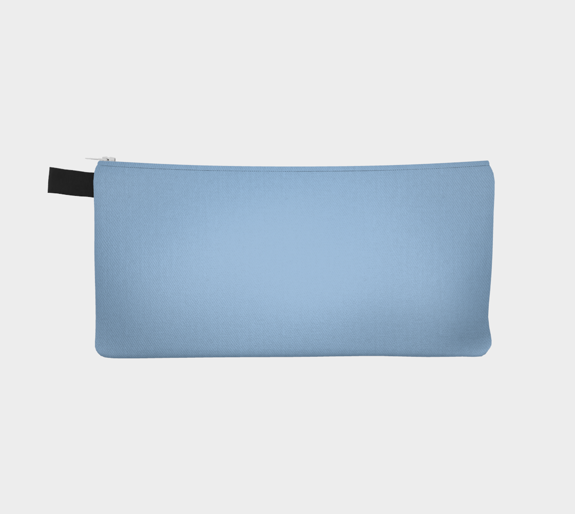 Zippered Pouch  |  Simply Solids™ • Airy Blue