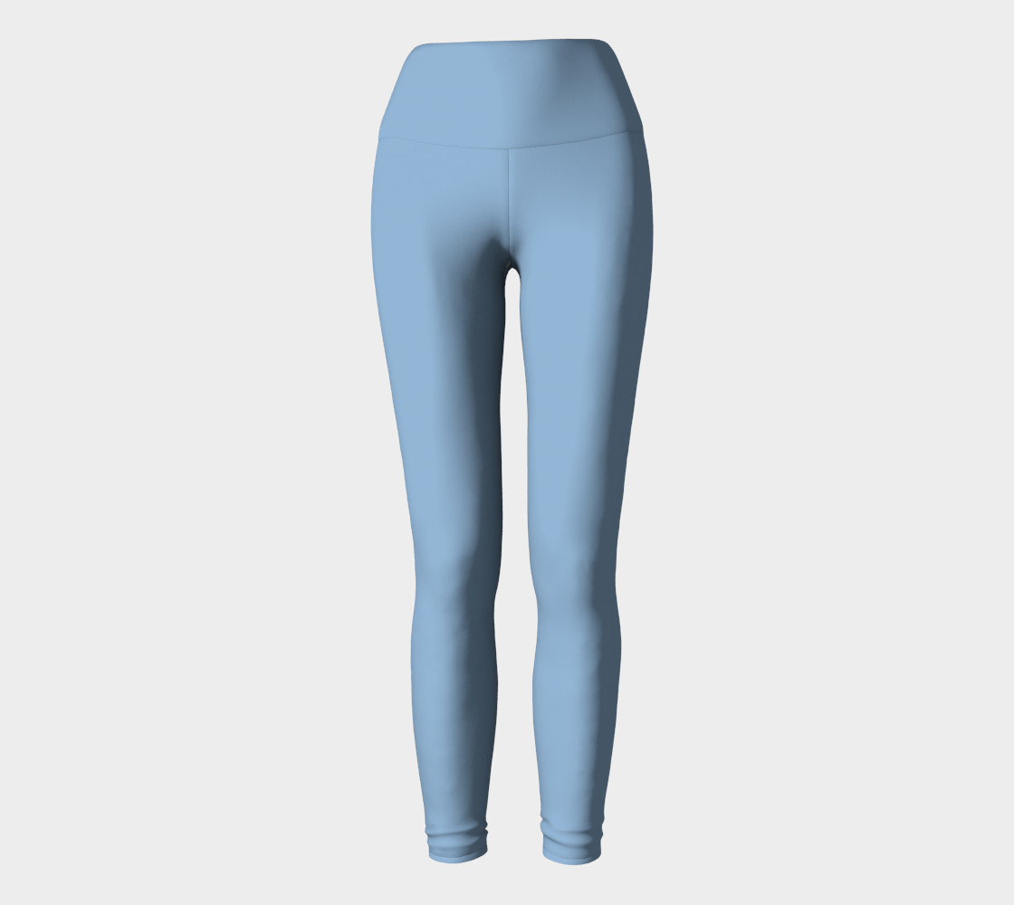 Yoga Pants  |  Simply Solids™ • Airy Blue