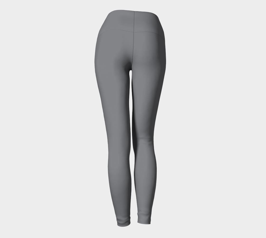 Yoga Pants  |  Simply Solids™ • Sharkskin Gray