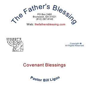Covenant Blessings mp3 - Pastor Bill Ligon