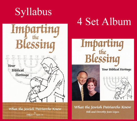 Imparting the Blessing Set - Book & Audio 4 CD Album