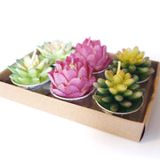 Cactus Tea Candles (Set of 6)