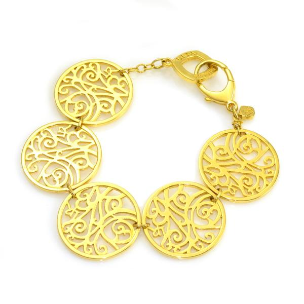 Gold Filigree Bracelet | Lisa Robin Jewelry