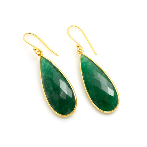 Emerald Earrings | Lisa Robin Jewelry